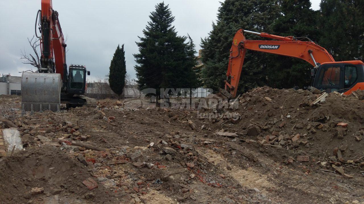 Baubeginn des Wohngebäudes